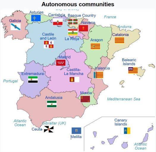 Autonomous communities